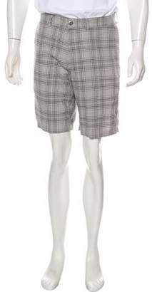 Patagonia Plaid Flat Front Shorts