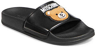 Moschino Teddy Pool Side Slides