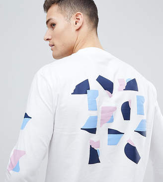 Noak T-Shirt With Abastract Print In Long Sleeve
