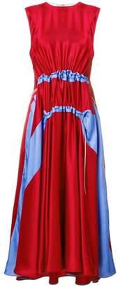 Roksanda ruched waist midi dress