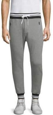The Kooples Stripe-Trim Jogging Trousers