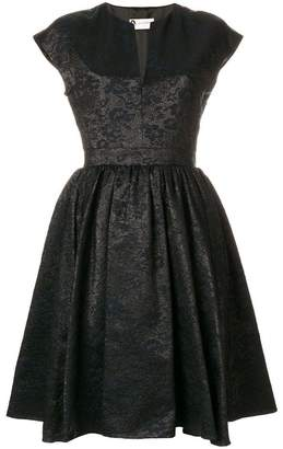 Lanvin belted flared dress