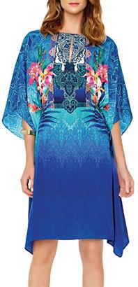 Gottex Oahu Floral-Print Dress $328 thestylecure.com