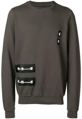Rick Owens loose fitted sweatshirt