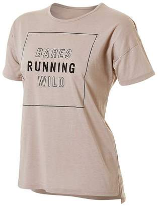 Running Bare Womens What A Racquet Tee