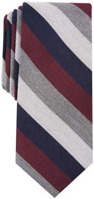 Bar III Men's Dupont Stripe Skinny Tie