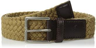 Tommy Bahama Men's 1.5 in. Woven Braided Cotton Belt