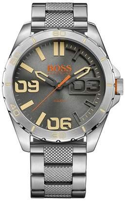 BOSS ORANGE Men's Silver Grey Bracelet Watch 1513317