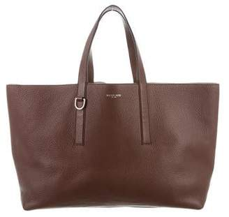 f1be6408f2f7 Michael Kors Grained Leather E/W Tote