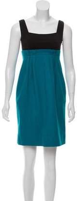 Diane von Furstenberg Wool Empire Dress