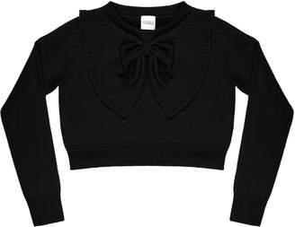 Madeleine Thompson Octavius Bow-Accented Cashmere Sweater