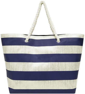 Asstd National Brand Large Straw Tote Bag