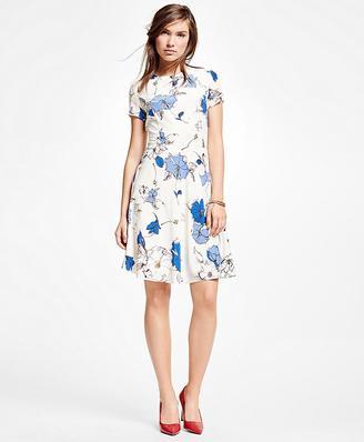 Silk Floral Dress $198 thestylecure.com