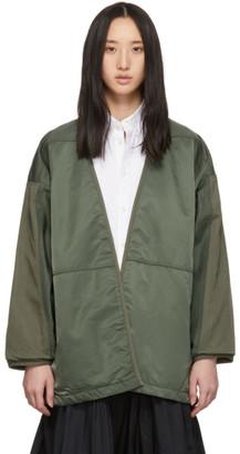 Visvim Green Mil Kimono Jacket