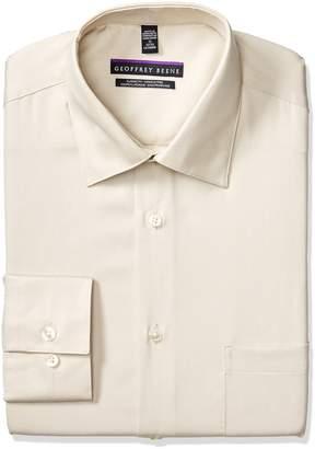 Geoffrey Beene Geoffery Beene Men's Long Sleeve Regular Fit Wrinkle Free Dress Shirt