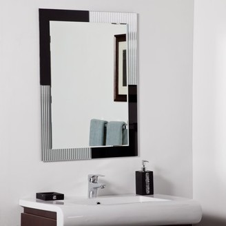 Décor Wonderland Jasmine Modern bathroom mirror