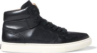 Ralph Lauren Jory Calfskin High-Top Sneaker