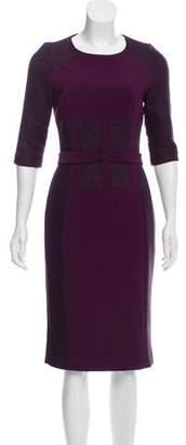 Amanda Wakeley Midi Sheath Dress