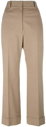 Jil Sander cropped tailored trousers
