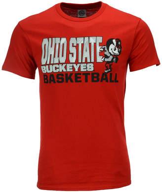 J America Men's Ohio State Buckeyes Slogan Stack T-Shirt