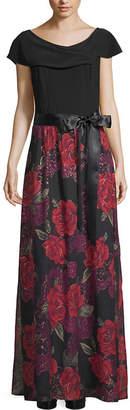 Scarlett Floral Tie Waist Dress - Tall
