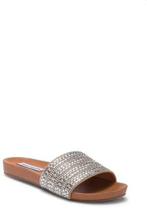 aac4e837d7b5 Steve Madden Dazzle Embellished Slide Sandal