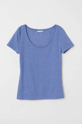 H&M Jersey Top - Blue