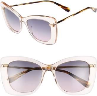 Derek Lam Clara 55mm Gradient Sunglasses