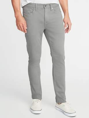 Old Navy Slim Built-In Warm Five-Pocket Twill Pants for Men