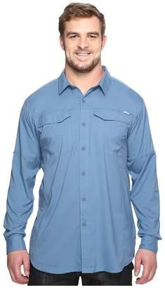 Columbia Big and Tall Silver Ridge Lite Long Sleeve Shirt Men's Long Sleeve Button Up