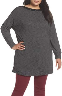 Caslon Button Neck Tunic