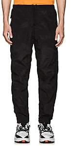Stone Island Men's Crinkled Utility Jogger Pants-Black