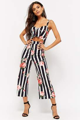 18e01d27d57 Navy And White Striped Jumpsuit - ShopStyle Canada