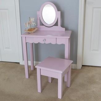 Decor Therapy Vivian Vanity with Mirror
