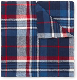 Polo Ralph Lauren Checked Cotton Pocket Square