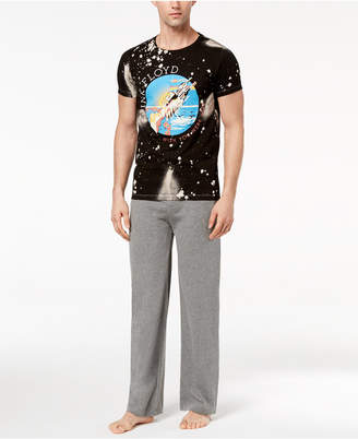 Bioworld Men's Pink Floyd Pajamas
