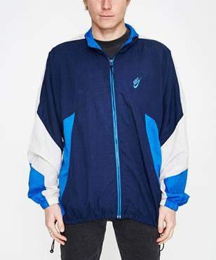Nike Storeroom Vintage Vintage Spray Jacket Navy Blue (XL)