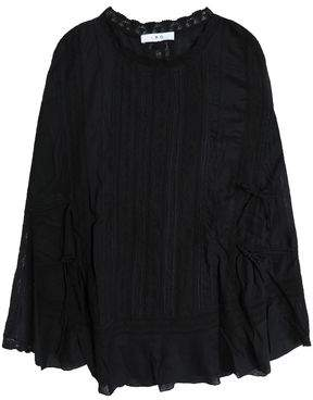 IRO Embroidered Woven Top