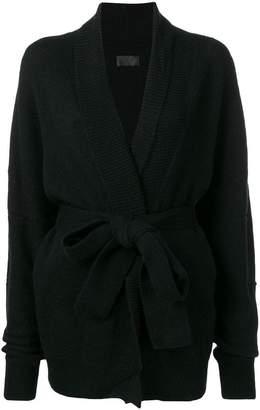 RtA v-neck belted cardigan