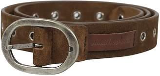 Massimo Alba Eyelet Detail Belt