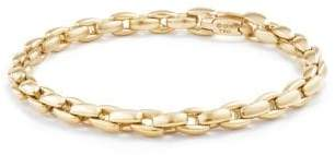 David Yurman Davidyurman Elongated Box Chain Bracelet In 18K Gold, 6Mm
