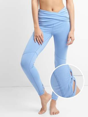 43e738f65c13f GFast Lattice Back Leggings in Performance Cotton