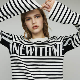 Maje Striped sailor sweater