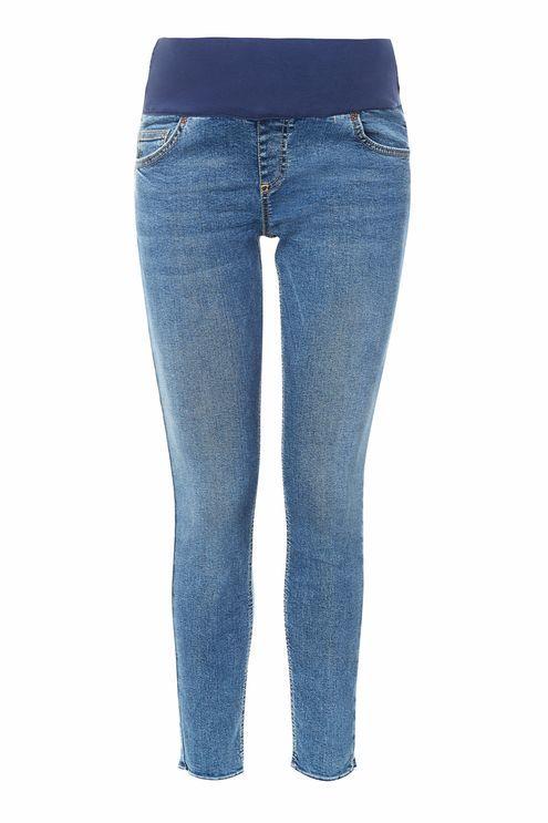 TopshopTopshop Maternity raw hem jamie jeans