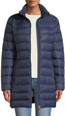 Save The Duck Basic Puffer Coat with Removable Hood