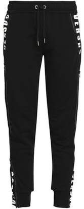 Versace Printed Cotton-Jersey Track Pants