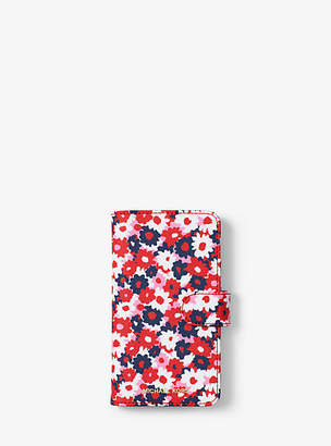 Michael Kors Carnation Folio Case For Iphone X