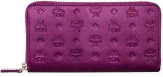 MCM Patent Patricia Zip Around Wallet