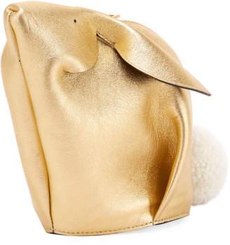 Loewe Bunny Mini Metallic Crossbody Bag
