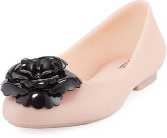 e677320c078b Melissa Shoes Doll Fem Flower-Toe Flat